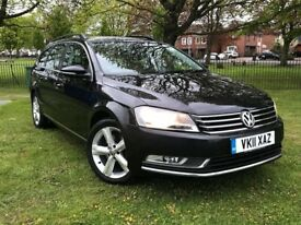 2011 VOLKSWAGEN PASSAT 1.6 TDI BLUEMOTION TECH ** ESTATE ** £ 30 YEAR TAX ** 94000 MILES **