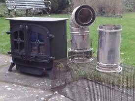 Yeoman Devon Gas Double Door Stove