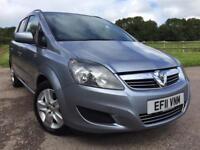 Vauxhall Zafira 1.7 TD ecoFLEX 16v Exclusiv (7 Seats)
