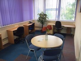 Fully Furnished 6-9 Person Office Suite Space To Rent Let North Somerset Serviced Offices