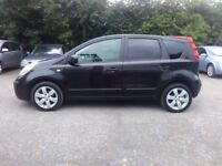 Nissan Note 1.4 5 door Low Milage, Only 1 previous Owner, New MOT
