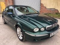 2003 (53) JAGUAR X-TYPE SE AWD, 3.0 PETROL/LPG, AUTO, SALOON, ONLY 69K, FULL LEATHER, LONG MOT !!!
