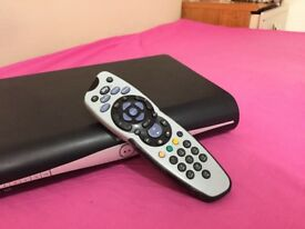 Sky HD Digital Box With Remote And Power Cable