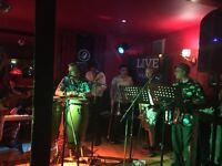 Salsadelic - Tunbridge Wells based Latin band require trumpet, trombone or saxophone player