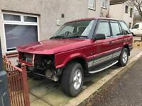 Range Rover diesel P38 spare or repair