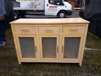 Beech wood side board