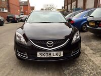 2008 MAZDA6 1.8 -5DOOR, 73000 GENUINE LOW MILES /FULL VOSA HISTORY,2-OWNERS,MOT MARCH 2017,HPI CLEAR