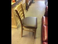 Joblot restaurant cafe pub solid wood chairs furniture