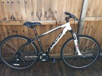 Carrera Crossfire Hybrid Bike Mens Lightweight