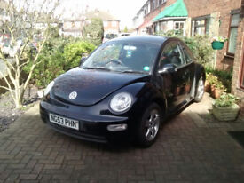 VW Beetle 1.6 Black