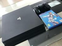 PlayStation 4 Pro 4K HDR 1TB PS4 Mint Condition