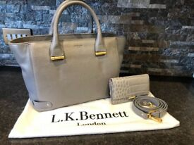 LK Bennet Handbag and Matching Purse