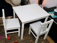 Kids white furniture for sale