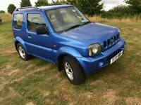Suzuki Jimny jlx 1.3 petrol with service history MOT in good running order