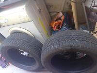 2 winter tires 205/55/R16 91H