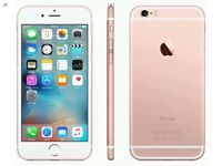 WANTED- iPhone 6s in rose gold 64gb or above