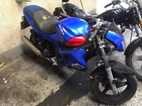 gilera dna 125 none runner please read advert