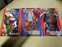 Ultimate Spiderman comic annuals