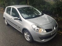 2008 RENAULT CLIO AUTOMATIC HATCHBACK. JUST 36000 MILES, WHOLE CAR IS IMMACULATE WITH FULL SERVICE