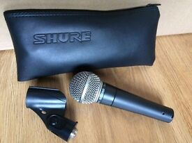 Shure SM58 microphone (Free P+P)