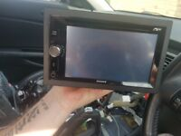 Sony touch screen double din car stereo