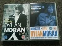 New. 2 live Dylan Moran Dvds