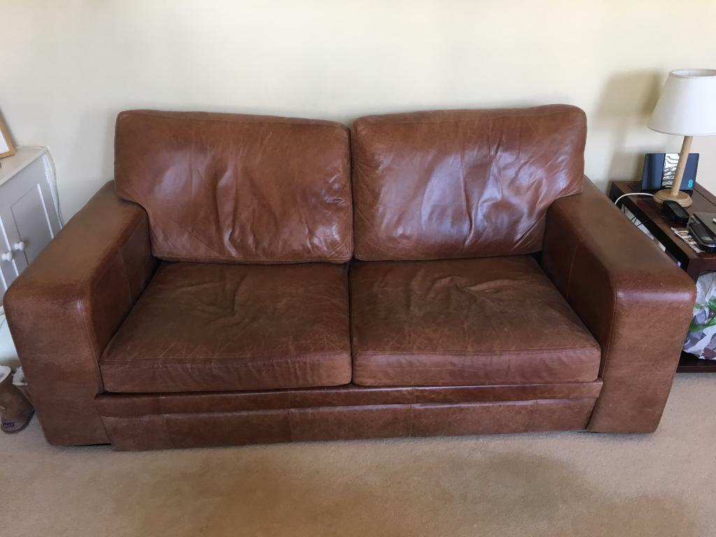 - Leather Sofa / Sofa Bed In Fulham, London Gumtree