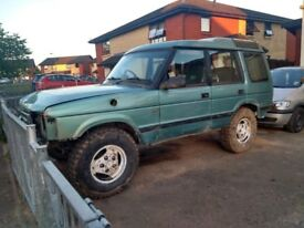 Off-road landrover discovery