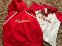 Rainbows hoodie and tshirt size small