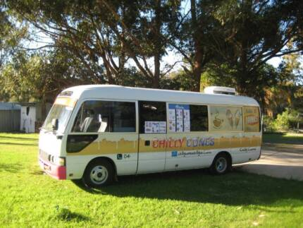 Ice Cream, Coffee Van, Food Bus