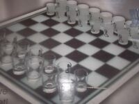 THE GADGET SHOP - DRINKING CHESS GAME - BRAND NEW / BOXED - CLACTON ON SEA - CO15 6AJ