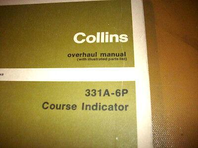 Service Indicator Manual - Collins  331A-6P Indicator Service manual