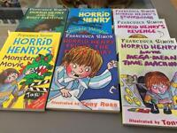 7 Horrid Henry Books