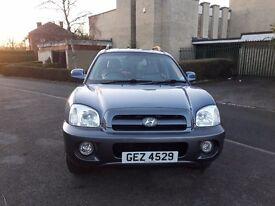 Hyundai Santa fe 2.0 diesel 103k fsh 2005 05 reg £1699