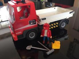 Playmobil construction tipper truck