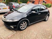 HONDA CIVIC 1.8 i-VTEC EX 5dr# SATNAV # HEATED SEATS # PARKING SENSOR # NEW MOT # LOW PRICE