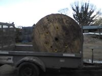 Giant Cable Reel for up-cycling