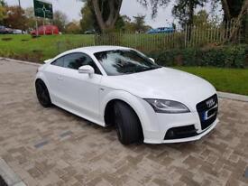 2011 White Audi TT Black edition S Line