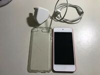 APPLE IPOD TOUCH 6TH GENERATION 32GB RED,GOOD CONDITION COMES WITH CHARGER AND CABLE