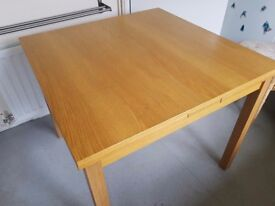 Ikea Bjursta Dining Table & 4 chairs