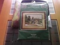New counted cross stitch kit by the craft collection called Matlock.