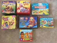Children's board games collection