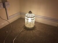 Laura Ashley bird cage lamps