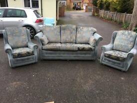 FREE - Three piece settee