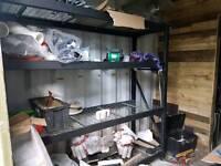 Stainless steel garage racking