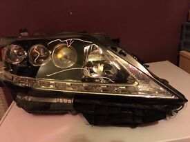 LEXUS RX450H 2015 GINUINE RIGHT LED XENON HEADLIGHT AND NEW FRONT REINFORCER