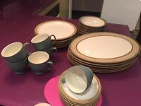Denby Luxor tableware - plates, bowls, cups
