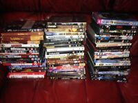 Job lot of 54 DVDs