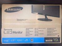led samsung monitor 19inch sd300