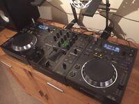 Pioneer CDJ 350 setup